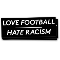 Love Football – Hate Racism 40 Aufkleber