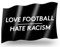 Love Football, Hate Racism – Fahne