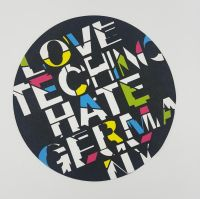 Love Techno Hate Germany – Slipmat