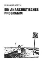 Errico Malatesta : Ein anarchistisches Programm