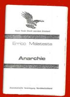 Errico Malatesta : Anarchie