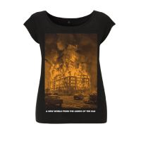 A New World from the Ashes of the Old – SOLI – tailliertes Shirt