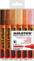 Molotow 227HS - ONE4ALL – 6 Marker-Set - 4mm Tip