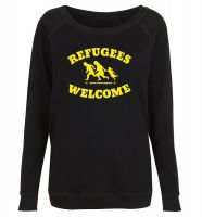 Refugees Welcome unisex Sweater