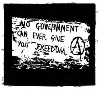 No Government can ever give you Freedom Aufnäher