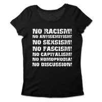 No Discussion! – tailliertes Shirt
