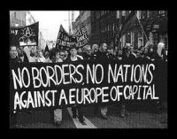 No Borders, No Nations Aufnäher