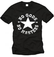 No Gods - No Masters Fairtrade-T-Shirt