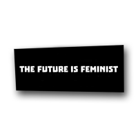 The Future is Feminist – Aufnäher