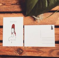 Period Pain, Real Pain – Postkarte