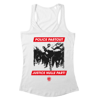 Police Partout – Justice Nulle Part! – Tank Top