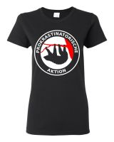 Prokrastinatorische Aktion – T-Shirt (waisted fit)