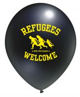 Refugees Welcome – 10 Luftballons