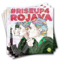 Riseup 4 Rojava– 40 Stickers