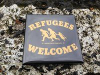 Refugees Welcome – fridge magnet