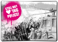 Still not loving Police – 40 Aufkleber