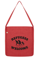 Refugees Welcome Tasche