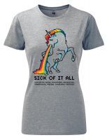 Sick of it all – tailliertes Shirt