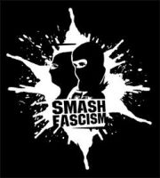 Smash Fascism (Splash) Aufnäher