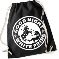 Good Night White Pride (Einhorn) Sportbeutel
