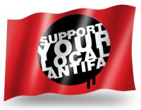 Support your local Antifa – Flag