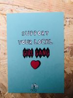 Support your local girl gang – Post Card