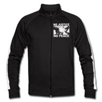 No Justice - No Peace Trainingsjacke