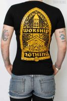 Worship Nothing – T-Shirt (waisted fit)