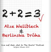 Atze Wellblech & Berlinska Dróha - 2+2=3 - Live-CD