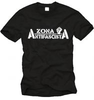 Zona Antifascista Fairtrade-T-Shirt