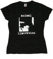 Animal Liberation – Shirt (waist fitted) size L (remaining stock)