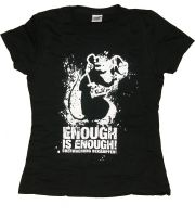 Enough is enough – Shirt (waist fitted) (remaining stock)