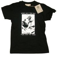 Animals can't fight back – T-Shirt, size S (remaining stock)