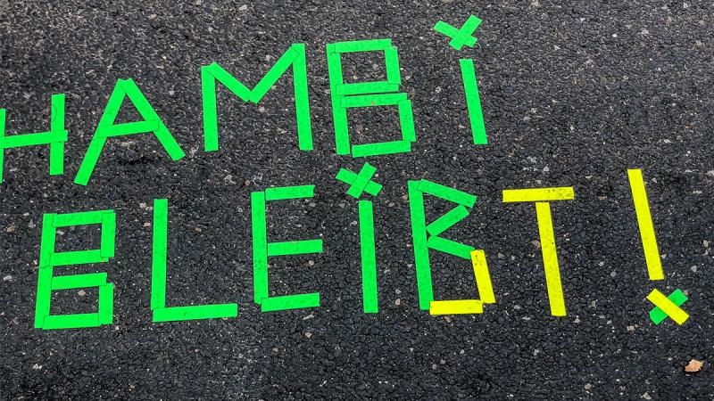 Hambi bleibt - Waldbesetzung im Hambacher Forst