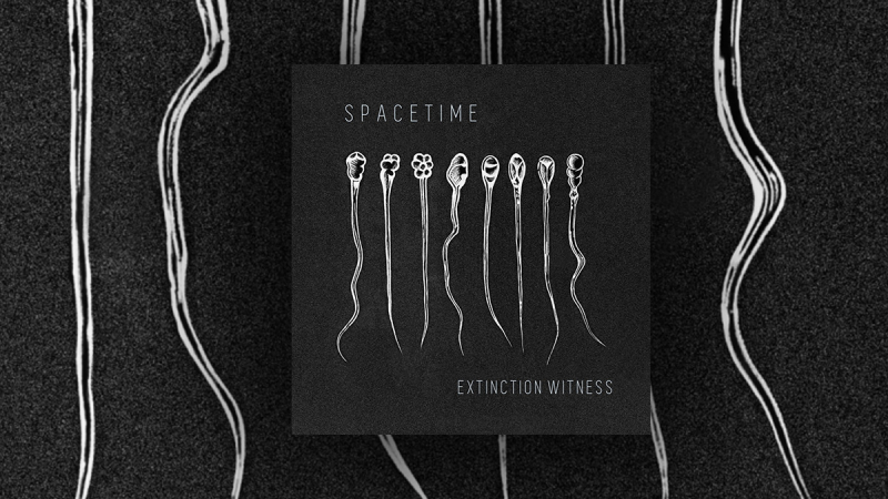 Out now: the 2nd EP of Spacetime »Extinction Witness«