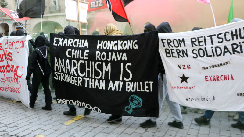 Anarchism is stronger then any Bullet