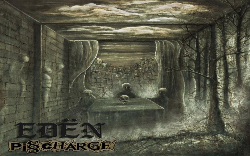 Pisscharge – Edën LP erschienen