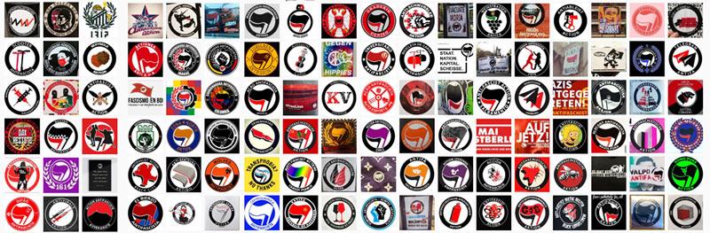 Zum Antifa Logo Archiv auf Instagram