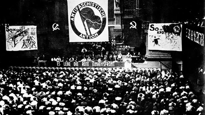 Konferenz der »Antifaschistischen Aktion von 1932«
