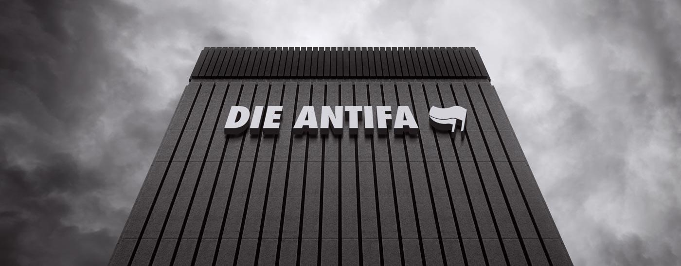 die Antifa Zentrale in Berlin