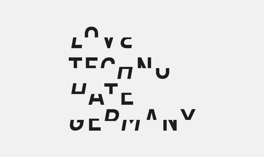 Love Techno Hate Germany