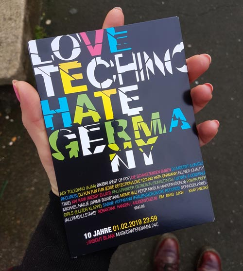 love techno hate germany