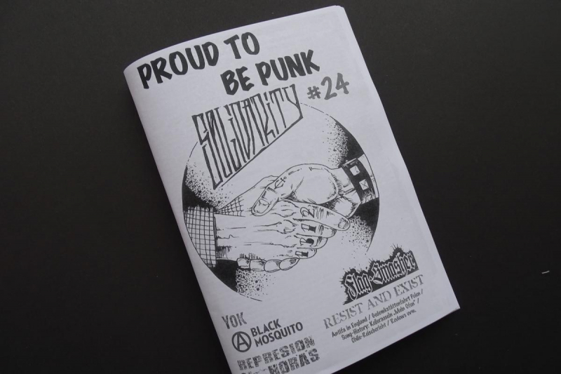 Interview im »Proud to be Punk« #24 (Sommer 2016)
