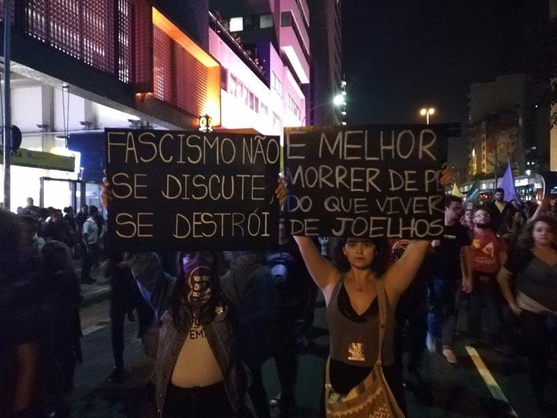 brasilien protest zur wahl
