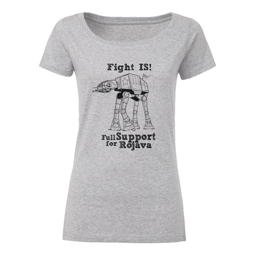 Fight IS! tailliertes Shirt