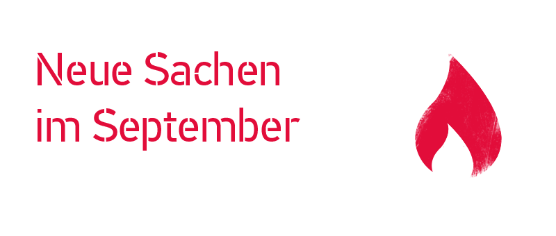Neues im September